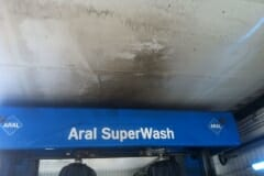 Vorher - Waschhallenreinigung einer Aral in Hamburg