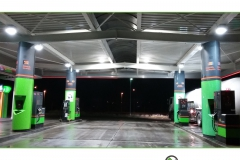 Tankstellendachreinigung