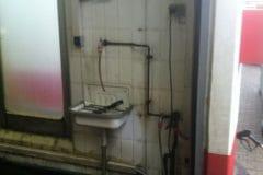 Waschhallenreinigung in Essen - 4 Anlagen auf einen Streich (vorher)